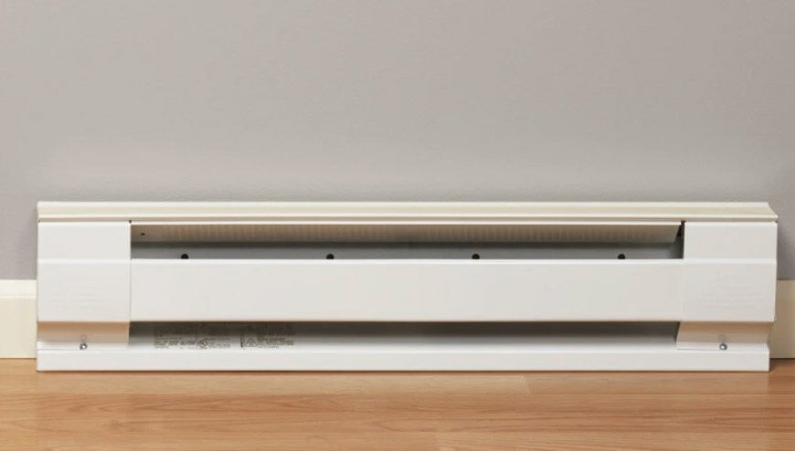 this is an image of a baseboard heater